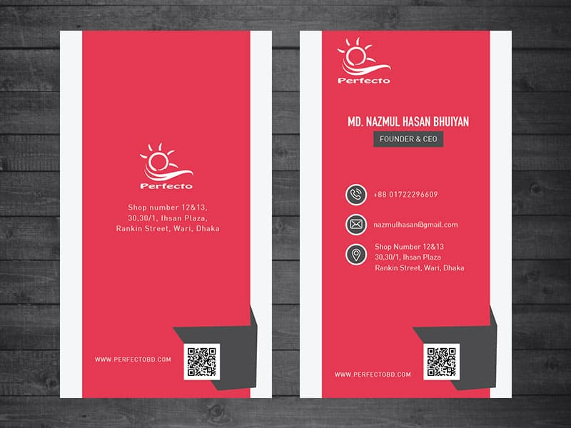 free business card template ai