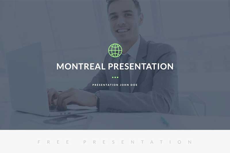 Montreal-Free-Presentation-Template