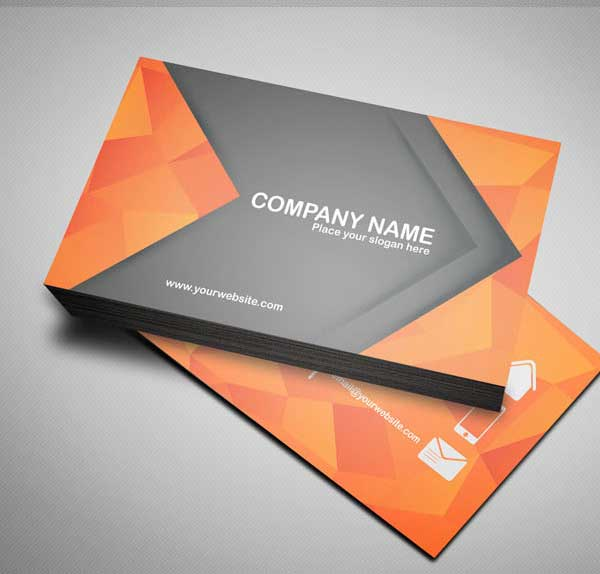 Free Modern Business Card Template PSD