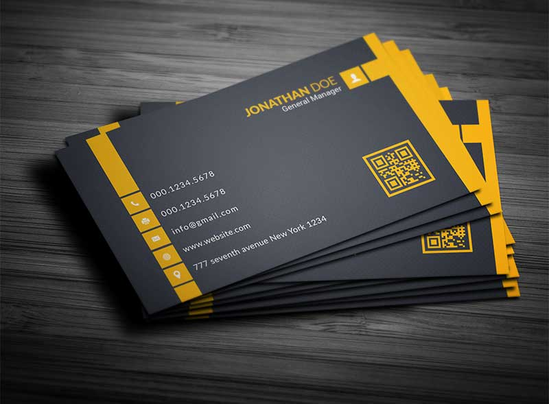 Free Corporate Business Card