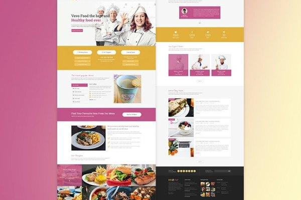Vevo-Food-Free-Restaurant-Cafe-Website-PSD-Template