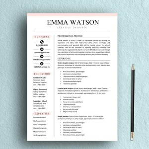 Chic Resume Template