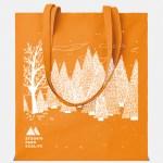 shopper cottonel arancio