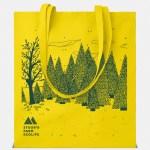 shopper cottonel giallo