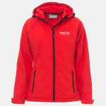 giacchetto softshell gale donna rosso