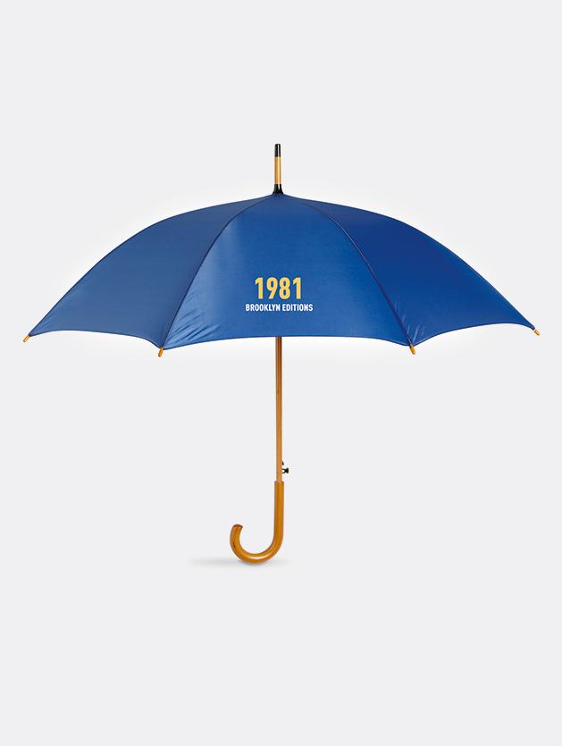 Ombrello cumuli blu