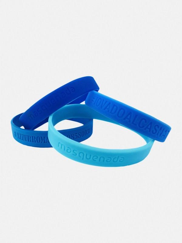 braccialetto silicon ad incisione