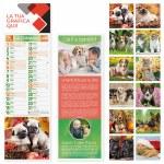 calendari silhouettes cani