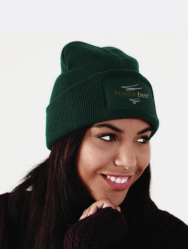 cappello beanie print