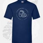 t-shirt uomo fruit 61036 blu navy