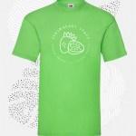 t-shirt uomo fruit 61036 lime