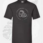 t-shirt uomo fruit 61036 verde nera