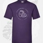 t-shirt uomo fruit 61036 porpora