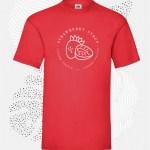 t-shirt uomo fruit 61036 rosso