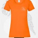 t-shirt donna fruit 61372 arancione