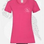 t-shirt donna fruit 61372 fucsia