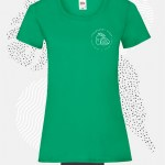 t-shirt donna fruit 61372 verde prato