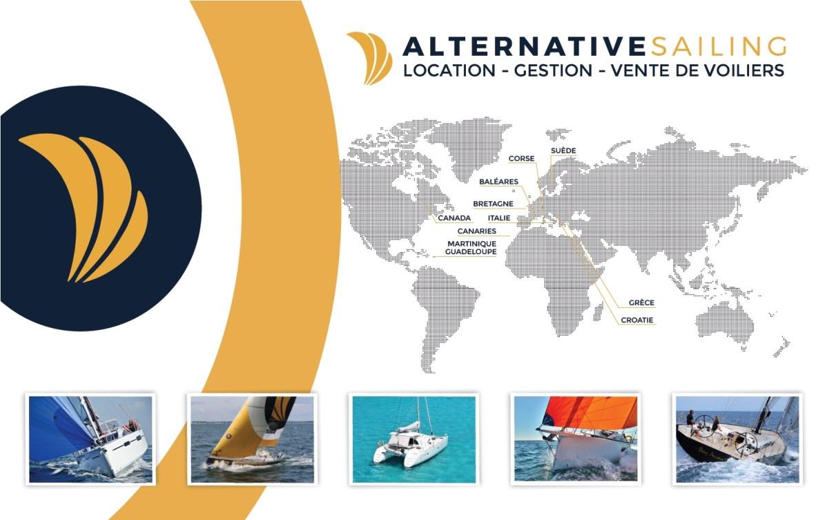 réalisation des stands d'Alternative sailing