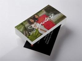 Signature Music Business Card Design