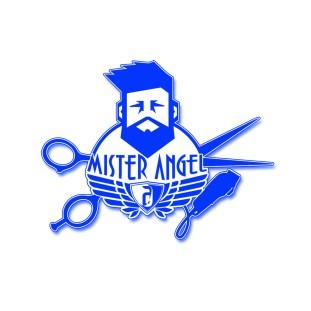 Mister Angel Barber Logo Design