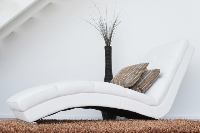 architecture sofa comfort and two pillows