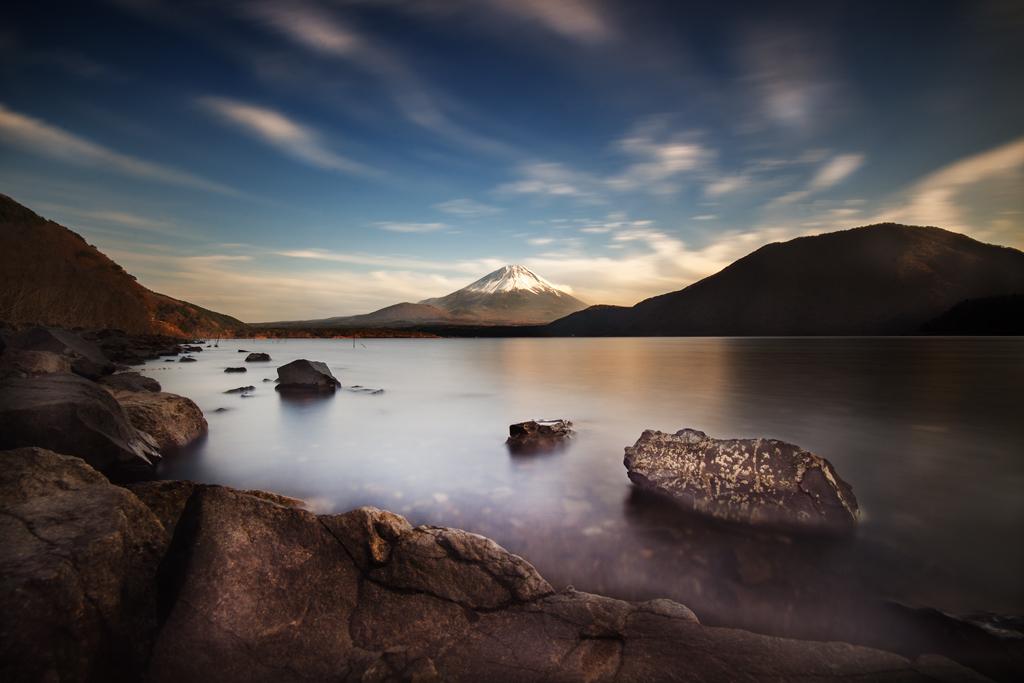 Sunset, Fuji-san