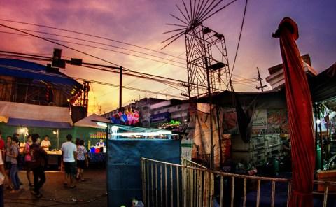Evening, Thailand, Clouds, Sunset, Sukhothai - Kamphaeng Phet, André Alessio, Graphylight, Portraits of Thailand