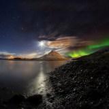 Aurora Borealis The Milky Way