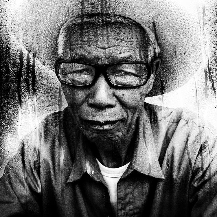 Portrait, Homme, Noir et blanc, Série Noire