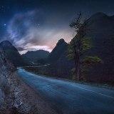 At night in Dong Van