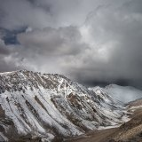 Clouds at Khardungla Pass
