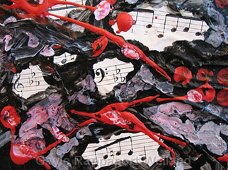 Abstract Musical Collage