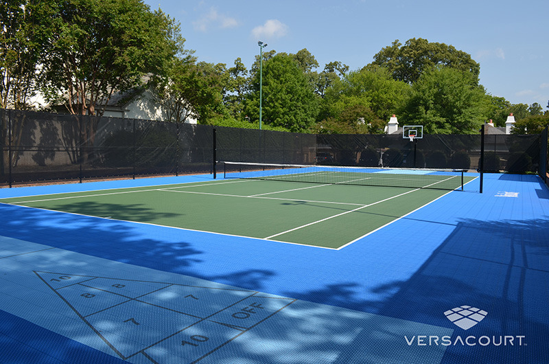 Grass Amp More Outdoor Services Multi Sport Game Courts In