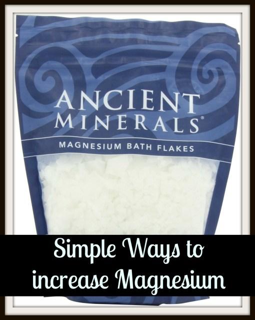 magnesium oil flakes pregnancy
