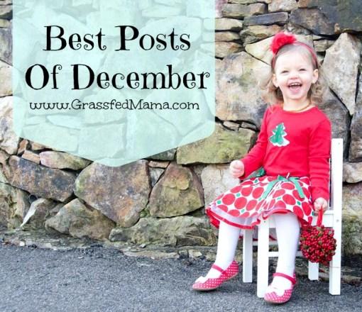 Best Posts of December
