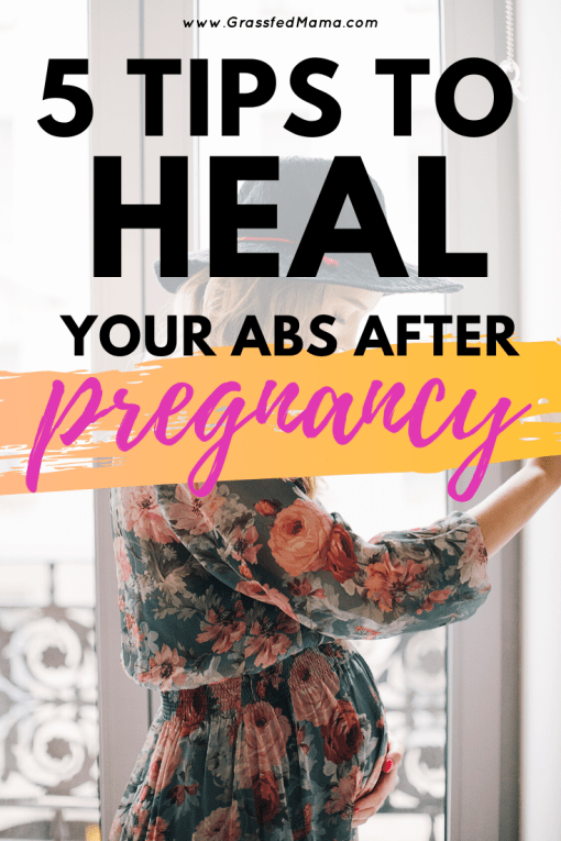 How to Heal Your Abs After Pregnancy