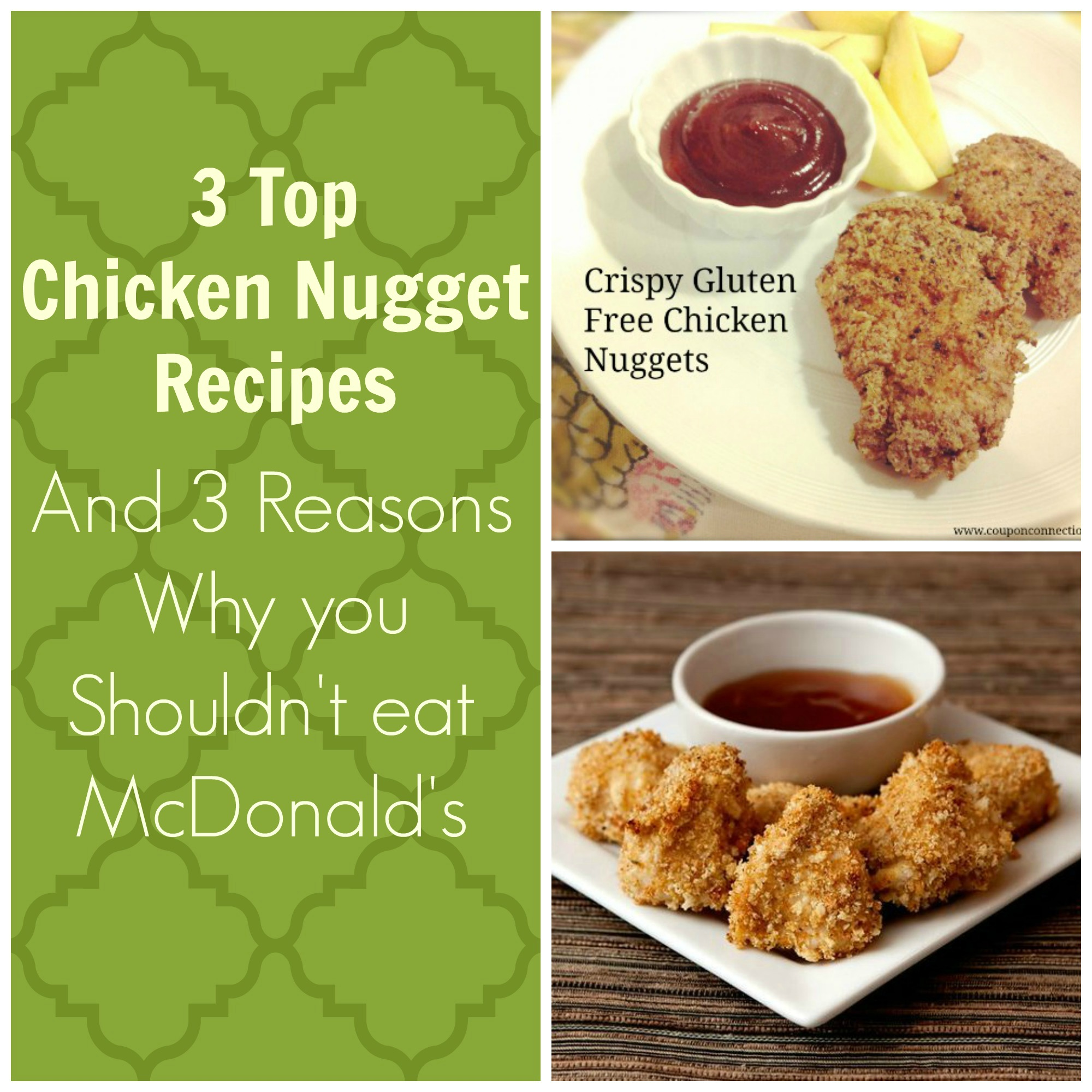 healthy Chicken nuggets, homemade nuggets, mcdonalds, gluten free, paleo, recipe
