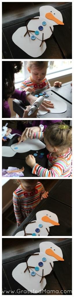 foam snowman craft, do you want to build a snowman
