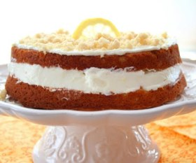lemon cream cake low carb