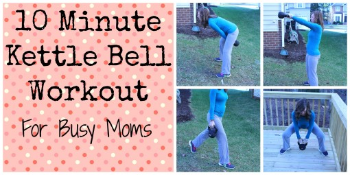 10 Minute Kettle Bell WorkOut