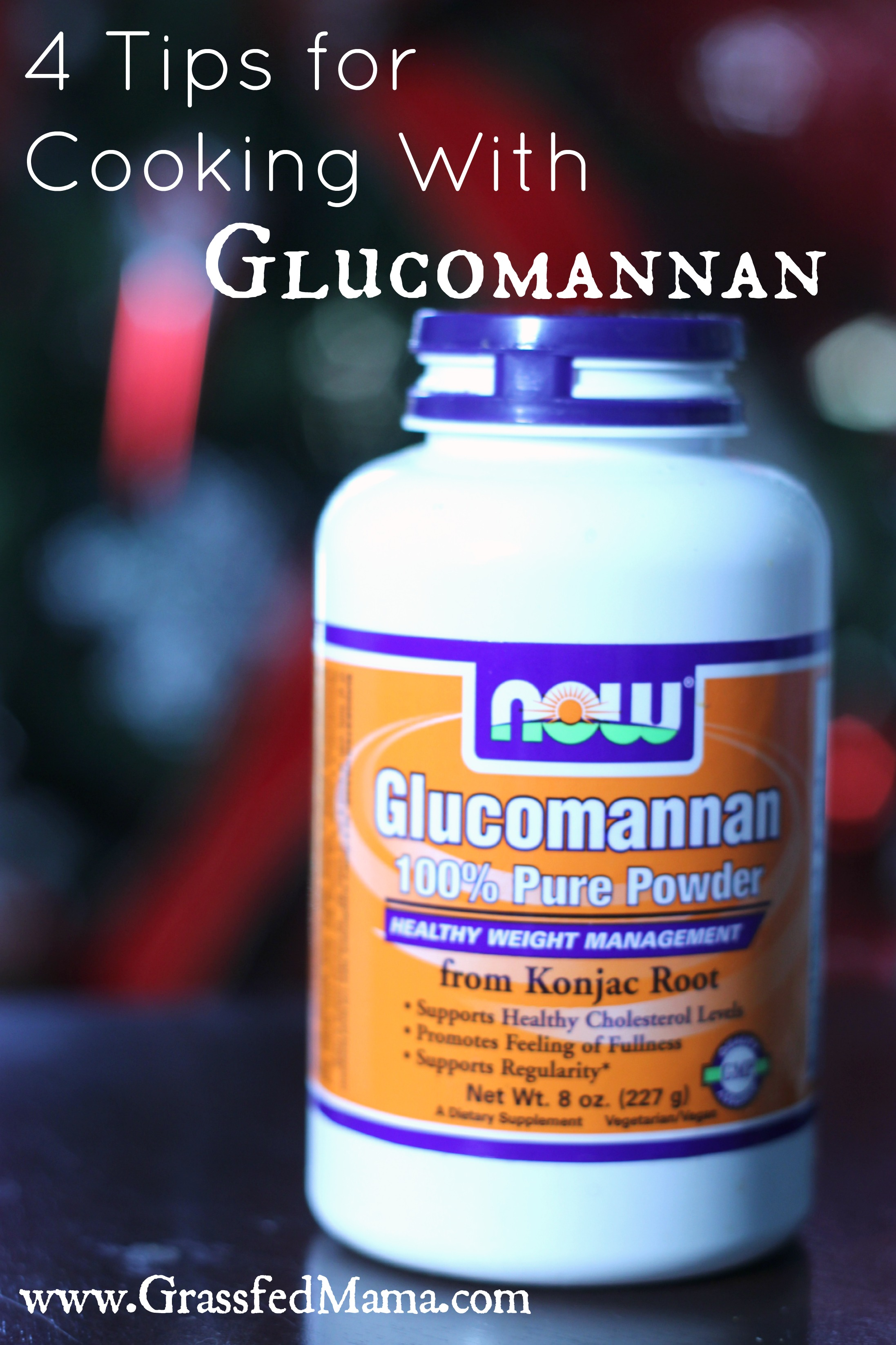 4 Tips for Cooking With Glucomannan