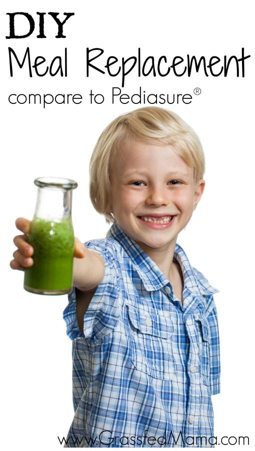 diy meal replacement shakes like pediasure