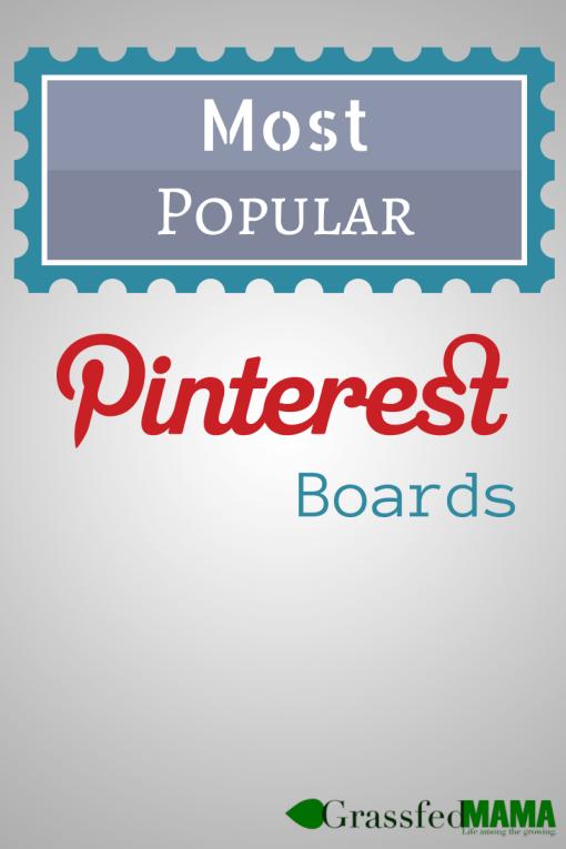 Most Popular Pinterest Boards