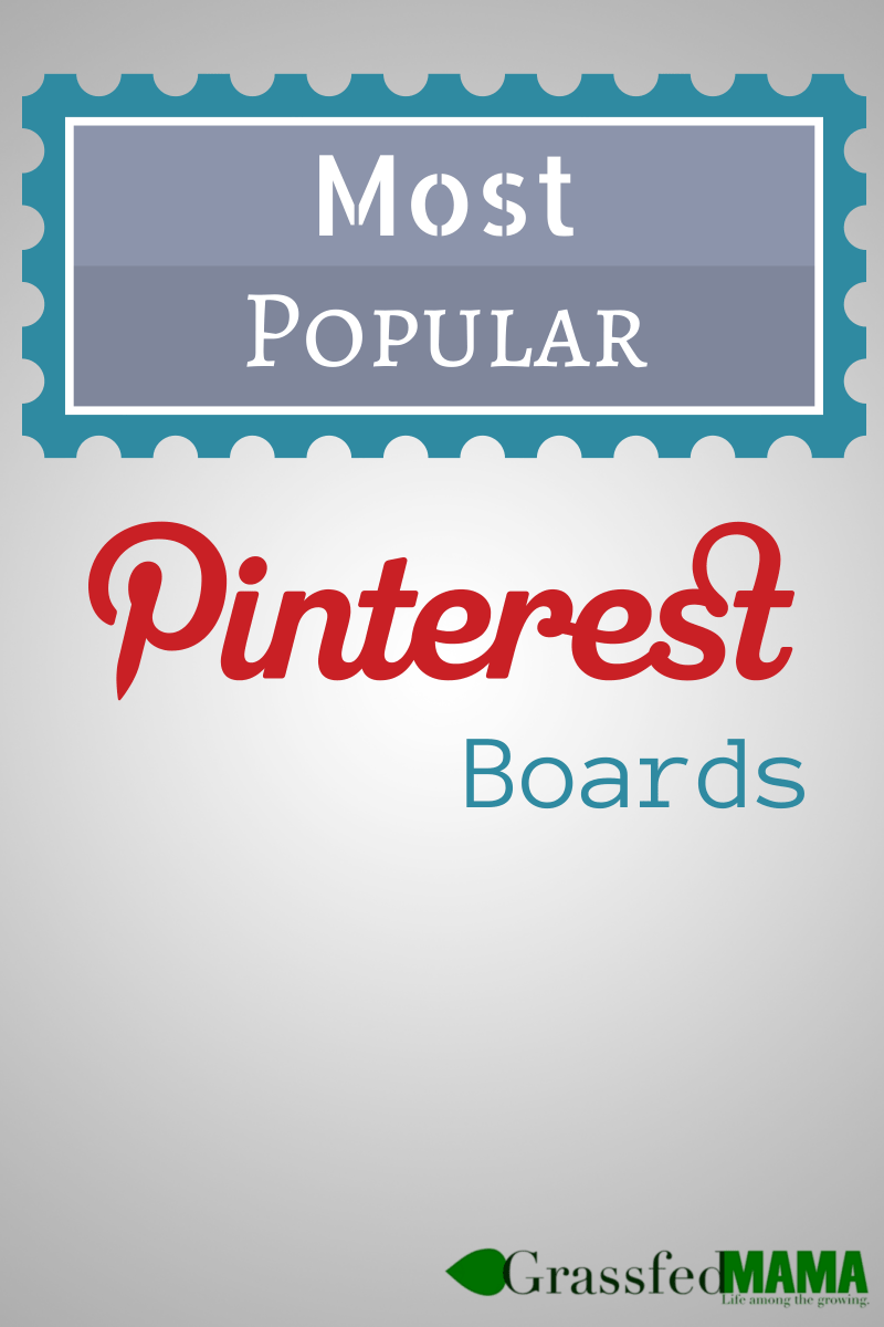 Most Popular Pinterest Boards