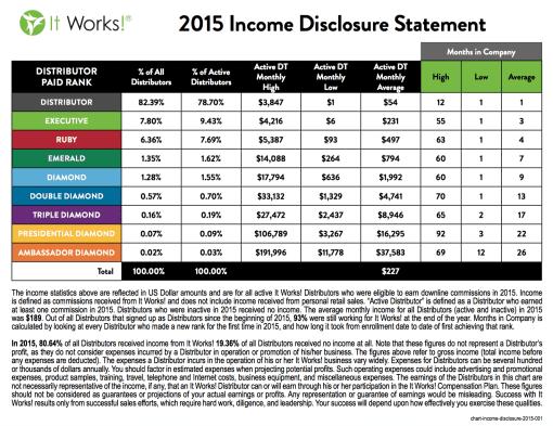 2015 Income Statement