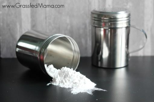 DIY Baby Powder Talc Free
