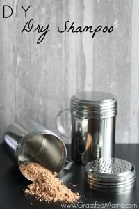 DIY Dry Shampoo Recipe using Red Clay