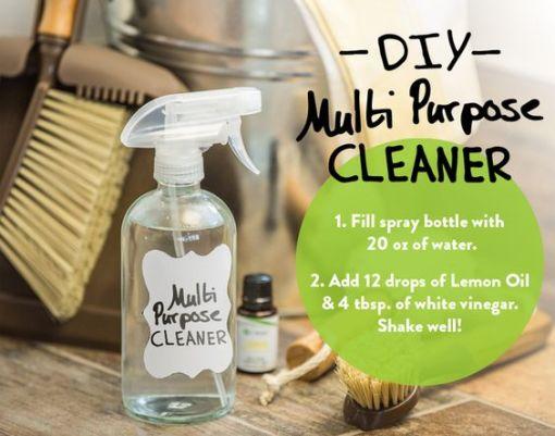 DIY Multi Purpose Cleaner