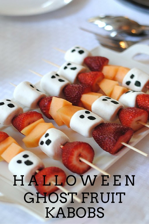 halloween ghost kabobs