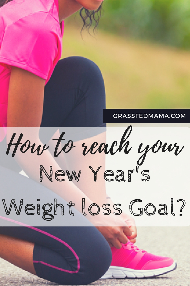How to reach your New Year's Weight Loss Goals